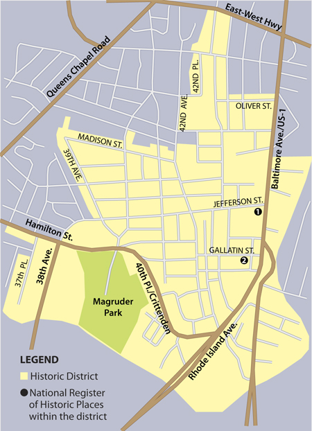 Historic District Map